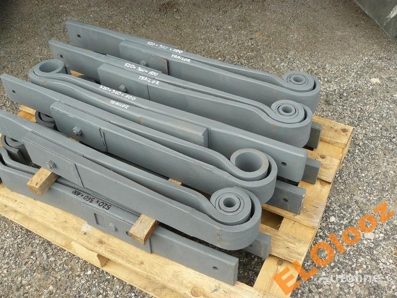 arc lamelar pentru PÓŁ 520x360x100 TRAILOR camion