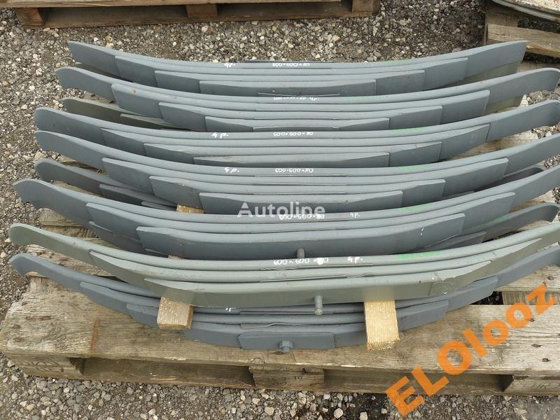 arc lamelar pentru FRUEHAUF 600X600X80 4-PIÓROWY FRUEHAUF camion