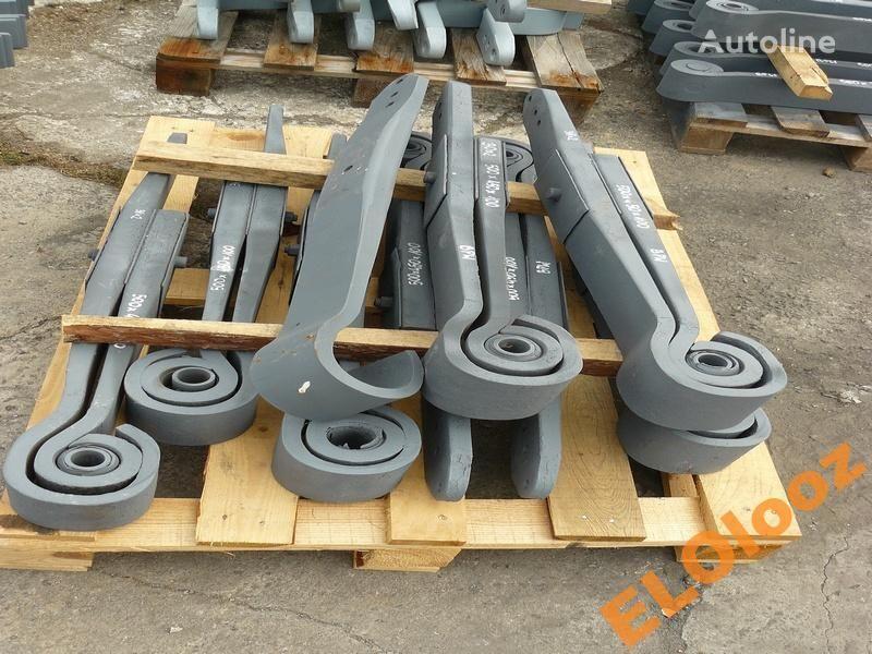 arc lamelar pentru PÓŁ 500x450x100 BPW KR150 camion