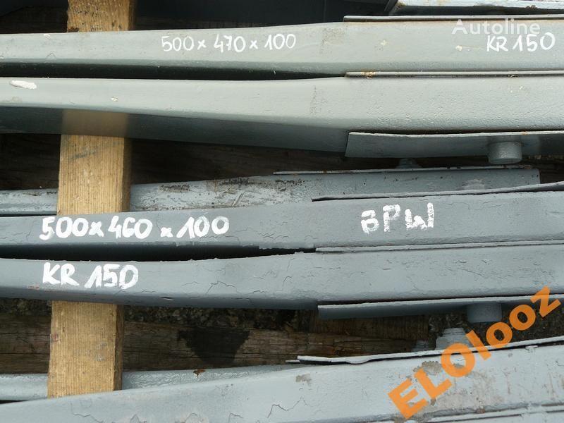 arc lamelar pentru PÓŁ 500x460x100 BPW KR150 camion
