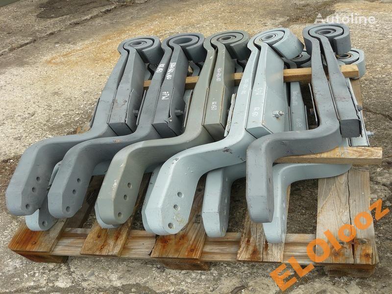 arc lamelar pentru PÓŁ 500x470x100 BPW KR150 camion