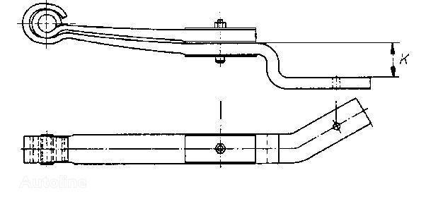RVI 7421079762.5010600024.5010600023.7421079761.85014800.85015000 arc lamelar pentru RENAULT MAGNUM PREMIUM camion