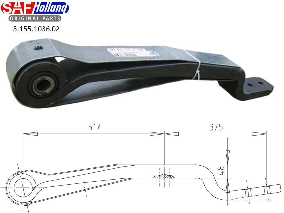 SAF 3155103602,3155103601,F188Z035ZA75 arc lamelar pentru SAF autotractor nou