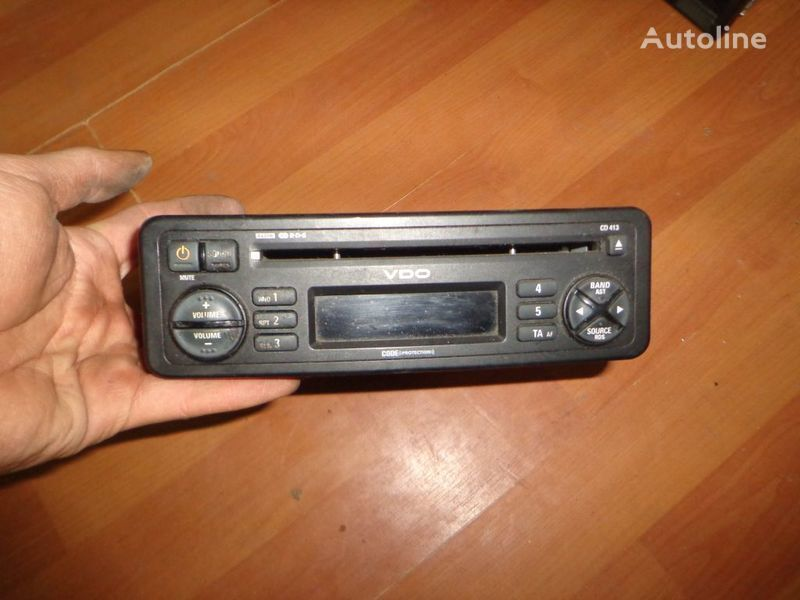 VDO CD413. 12V. CD. autoradio pentru camion