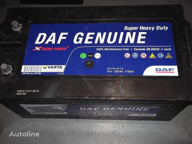 225Ah DAF XF 105  CF 85 baterie auto pentru autobuz nou