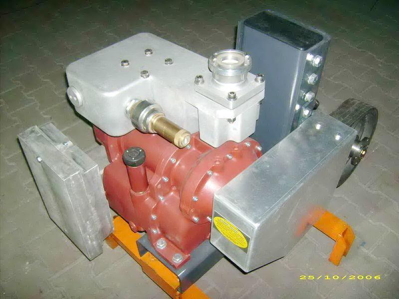 compresor pneumatic pentru CG80 GHH RAND Light cisternă semiremorcă