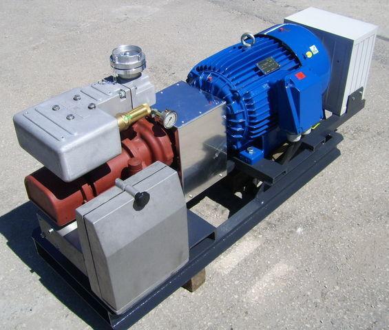 compresor pneumatic pentru CG80 GHH RAND z silnikiem elektrycznym cisternă semiremorcă
