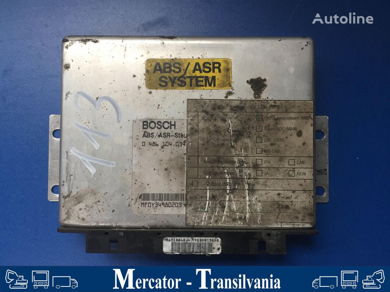 computer de bord BOSCH Bordcomputer für ABS/ASR SYSTEM pentru autobuz MERCEDES-BENZ O 550 / Integro