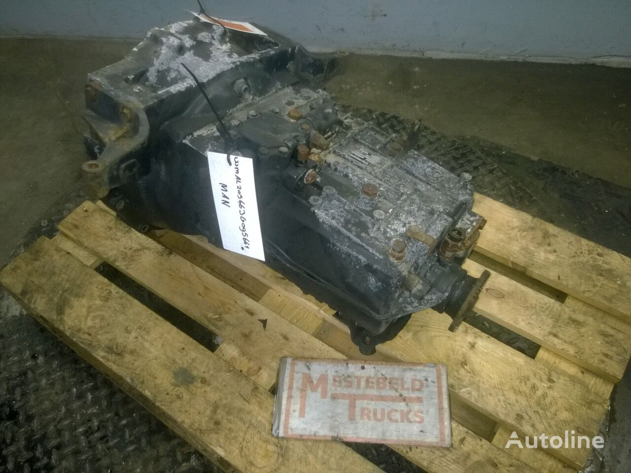cutie de viteze pentru MAN Versn bak S6-36 camion