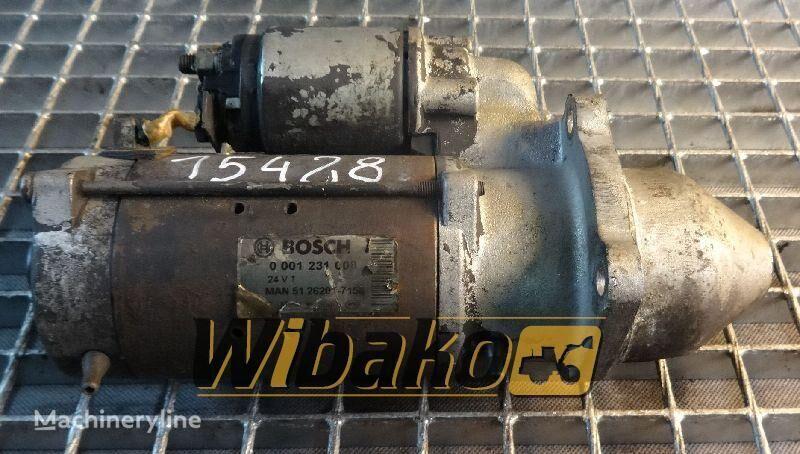 Starter Bosch 0001231008 demaror pentru 0001231008 alte mașini de construcții