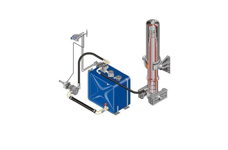 distribuitor hidraulic nou