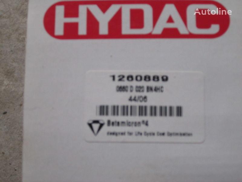 Hydac 1260889 Nimechchina filtru hidraulic pentru excavator nou