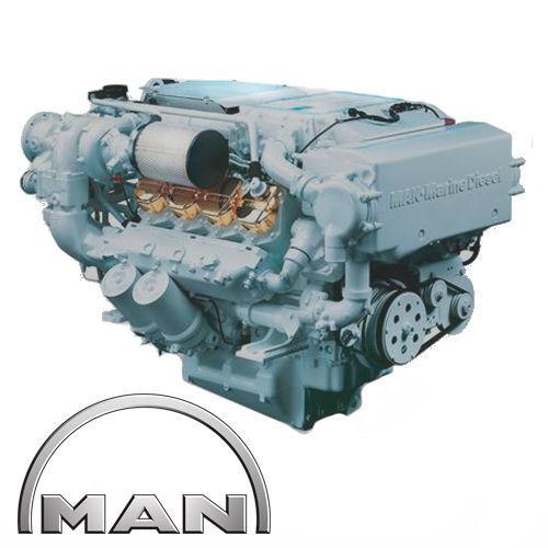 motor pentru alte mașini de construcții MAN MARINE D2848LE403, D3273, D0441 nou