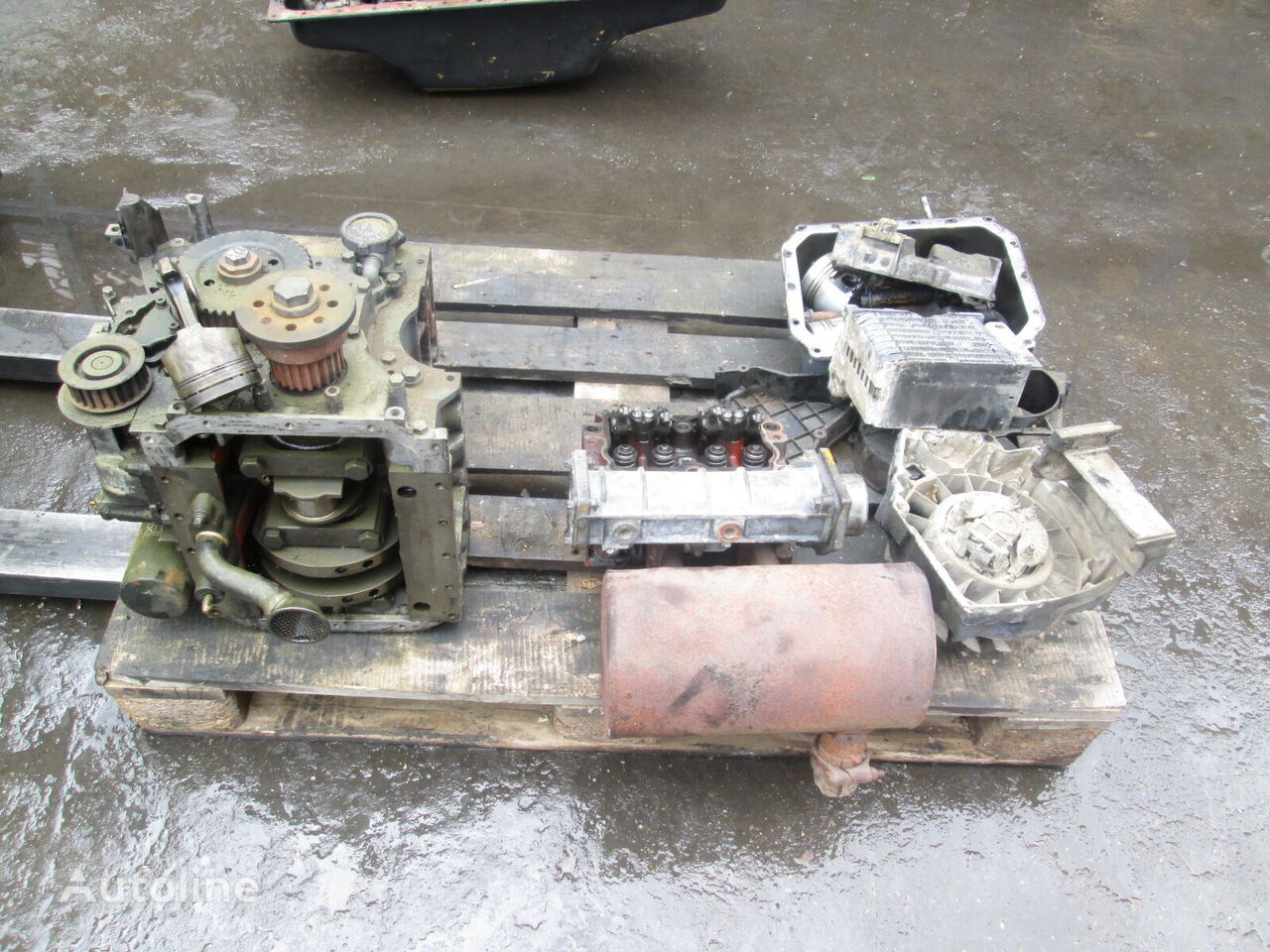 motor DEUTZ F21011 (parts) pentru încărcător frontal