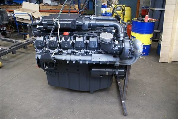 motor pentru MERCEDES-BENZ OM444LA camion