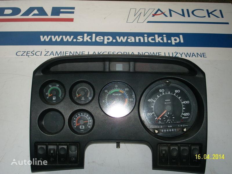 DAF LICZNIKI, ZEGARY , TABLICA PRZYRZĄDÓW,Instrument panel, front panou cu dispozitive pentru DAF autotractor