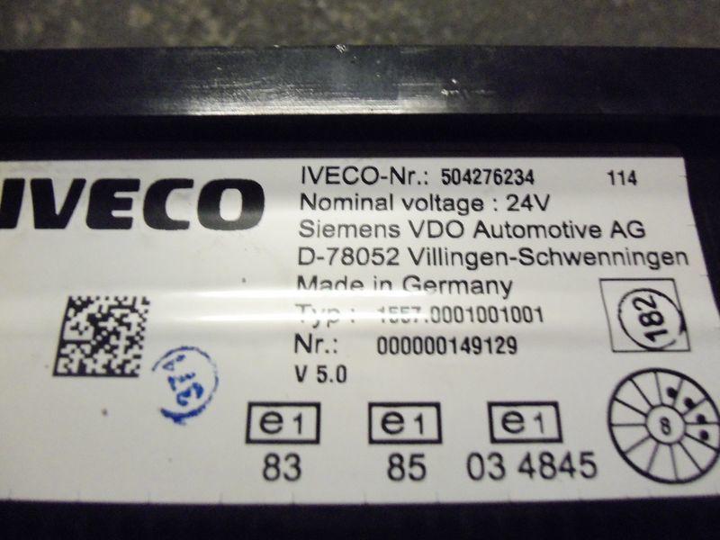 IVECO EURO5 instrument panel cluster 504276234, 504226363, 504025358, 504156164, 504156187 panou cu dispozitive pentru IVECO Stralis autotractor