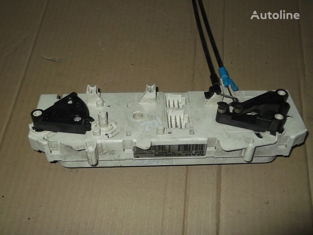 Blok upravleniem pechkoy i kondicionerom panou cu dispozitive pentru MAN camion