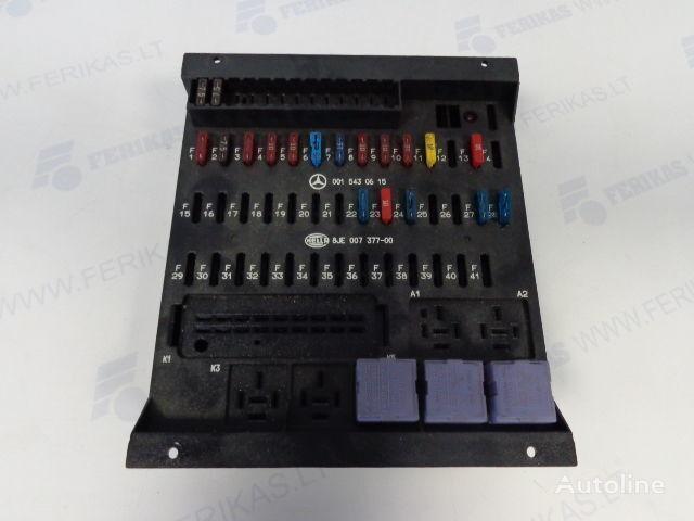 MERCEDES-BENZ protection fuse box 0015430615,0015433115,8JE007377-01,8JE007377 panou de sigurante pentru MERCEDES-BENZ autotractor