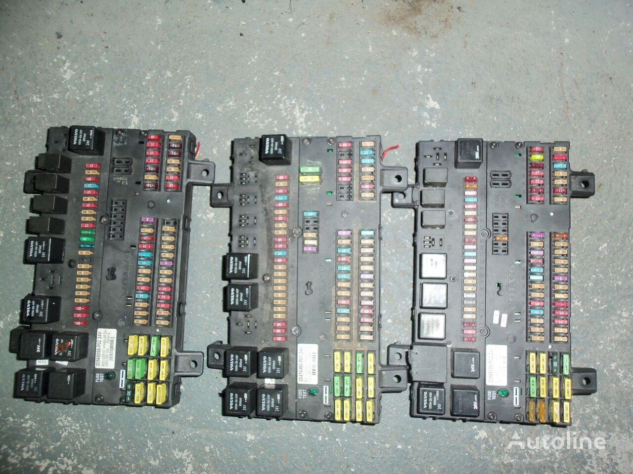 VOLVO fuse and relay center, central electrical box 20568055, 217 panou de sigurante pentru VOLVO FH13 autotractor
