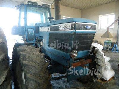 spare parts /b/u zapchasti FORD piese de schimb pentru FORD 8830 tractor