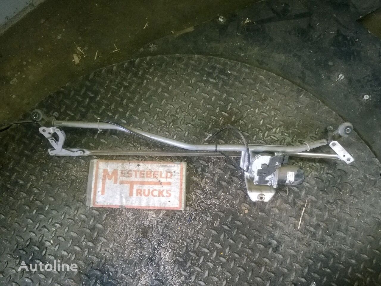 Ruitenwissermechanisme + motor piese de schimb pentru MERCEDES-BENZ Ruitenwissermechanisme + motor camion