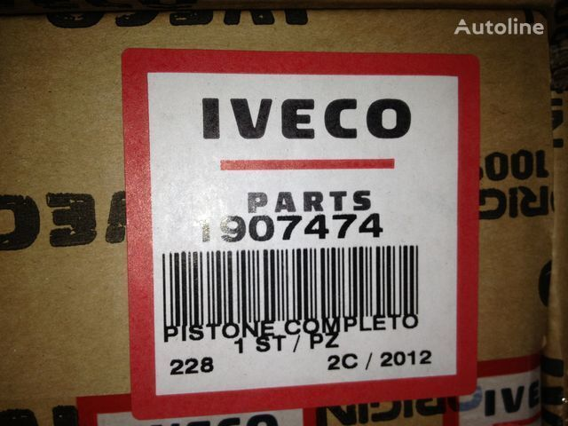 IVECO Class B - Diameter 137 piston pentru IVECO EUROTRAKKER E37 camion