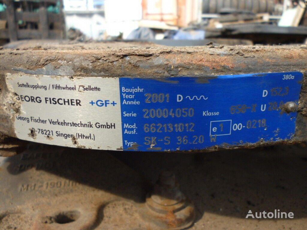 V=153 D=885 Sh=405 placa de cuplare pentru camion