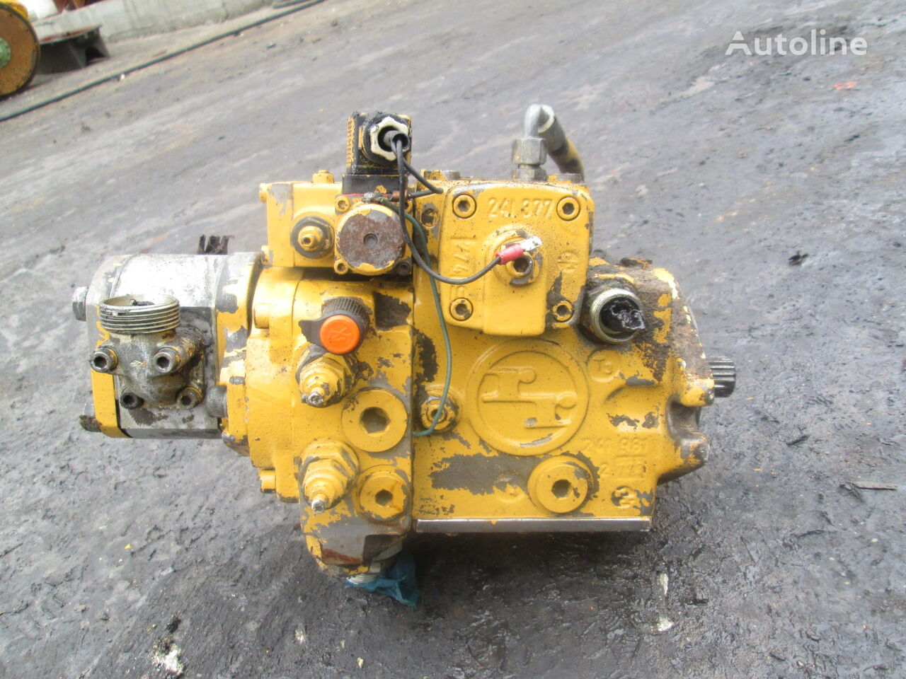 pompă hidraulică Hydromatik A4VG28EP11 pentru excavator