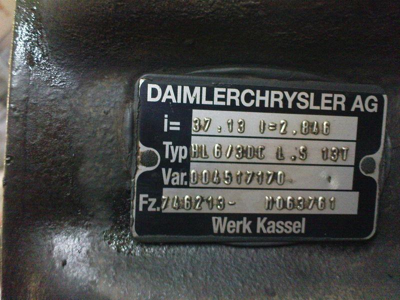 MERCEDES-BENZ HL6 ,40/13,37/13, Mercedes punte motoare pentru MERCEDES-BENZ AXOR,ACTROS autotractor
