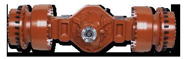 semiax DB KESSLER pentru basculantă articulată SANDVIK LH208L nou