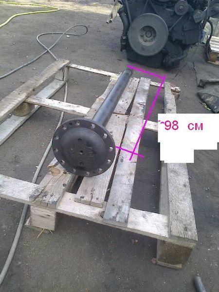reduktora ZF pravaya dlina 104 sm semiax pentru VAN HOOL autobuz