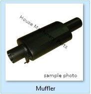 silențiator CATERPILLAR 637D, D44B, D550B 826C, 980C, 980F D9G 594, 657, 657B, D9G PC340 pentru încărcător frontal KOMATSU nou