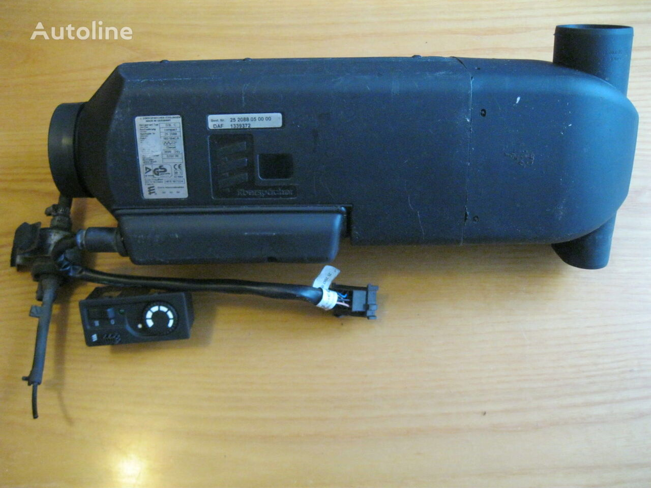 DAF sisteme de încălzire pentru DAF XF 95 autotractor