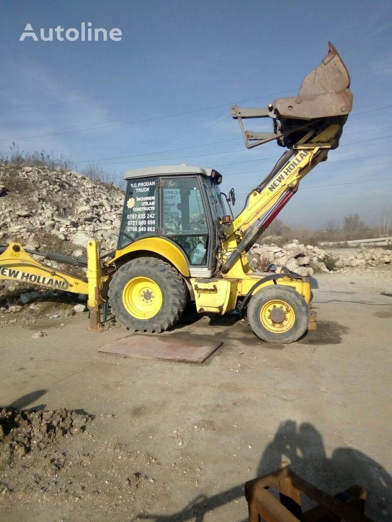 ungere centrală pentru buldoexcavator NEW HOLLAND NH85