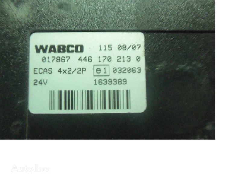 DAF 105 XF, ECAS electric control unit 1639389; 1657855, 1657854, 1686733, 1732019 unitate de control pentru DAF 105XF autotractor