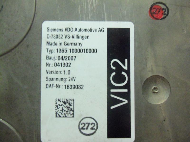 DAF VIC2 electronic control unit 1639082 unitate de control pentru DAF 105XF autotractor