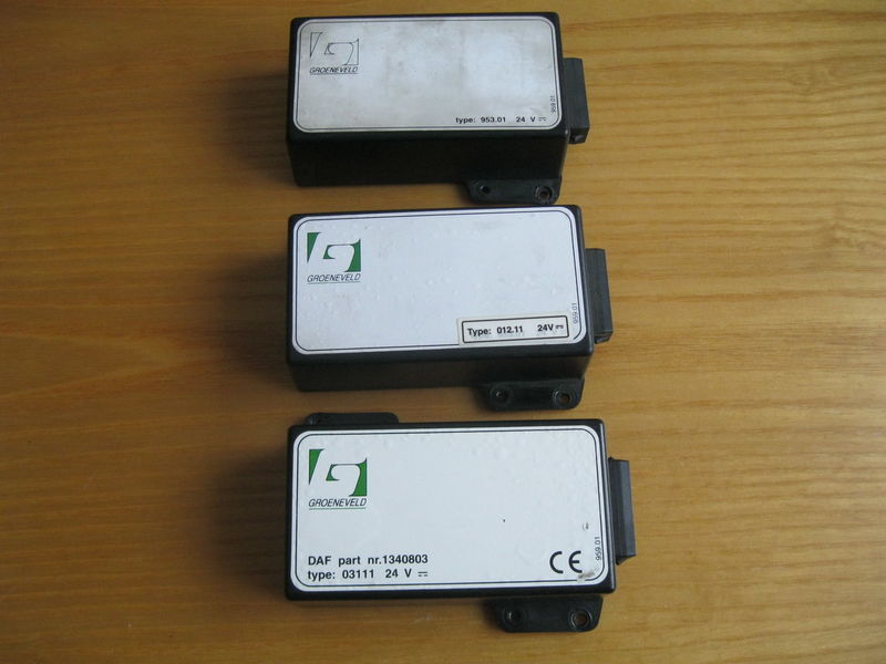 Sterownik centralnego smarowania unitate de control pentru DAF 95 XF autotractor