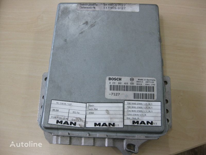 MAN BOSCH 0281001468 unitate de control pentru MAN camion