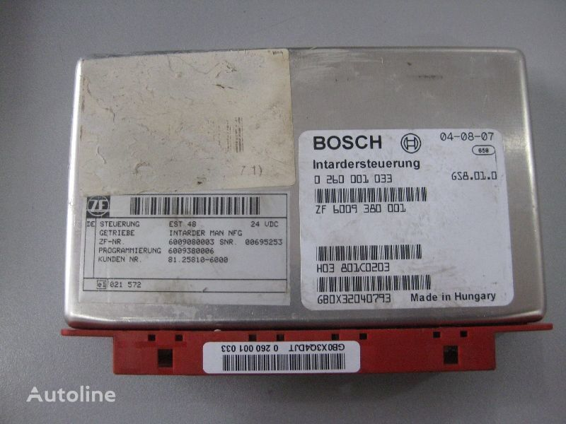 MAN BOSCH Bosch unitate de control pentru MAN camion
