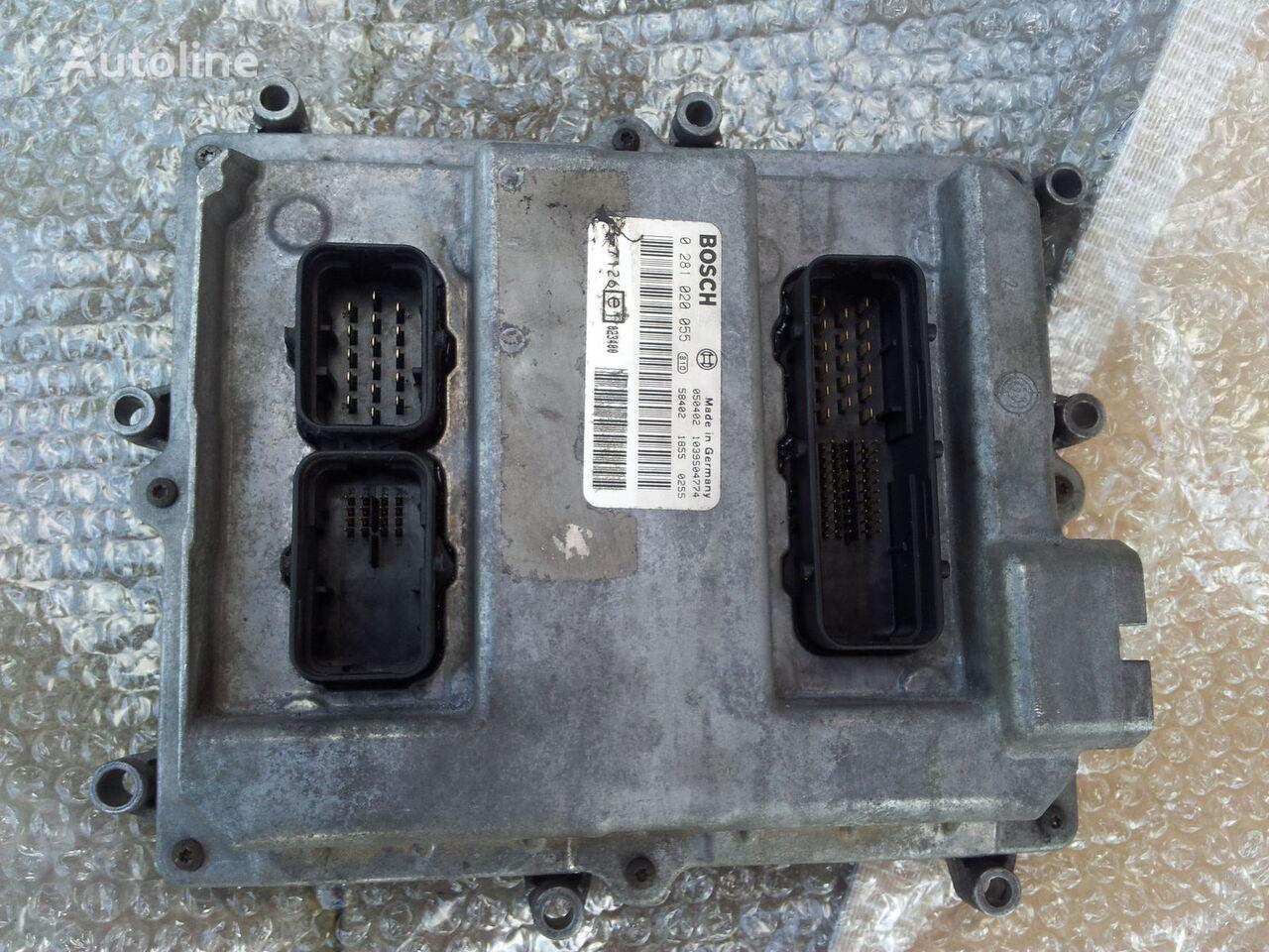 MAN Common Rail EDC, ECU electronic diesel control 0281020055, D2066 unitate de control pentru MAN TGA autotractor