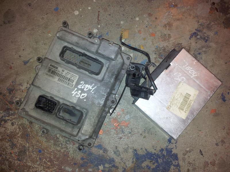 MAN EURO3, 430PS ignition set, EDC, ECU, BOSCH 0281010255 + FFR unitate de control pentru MAN TGA autotractor