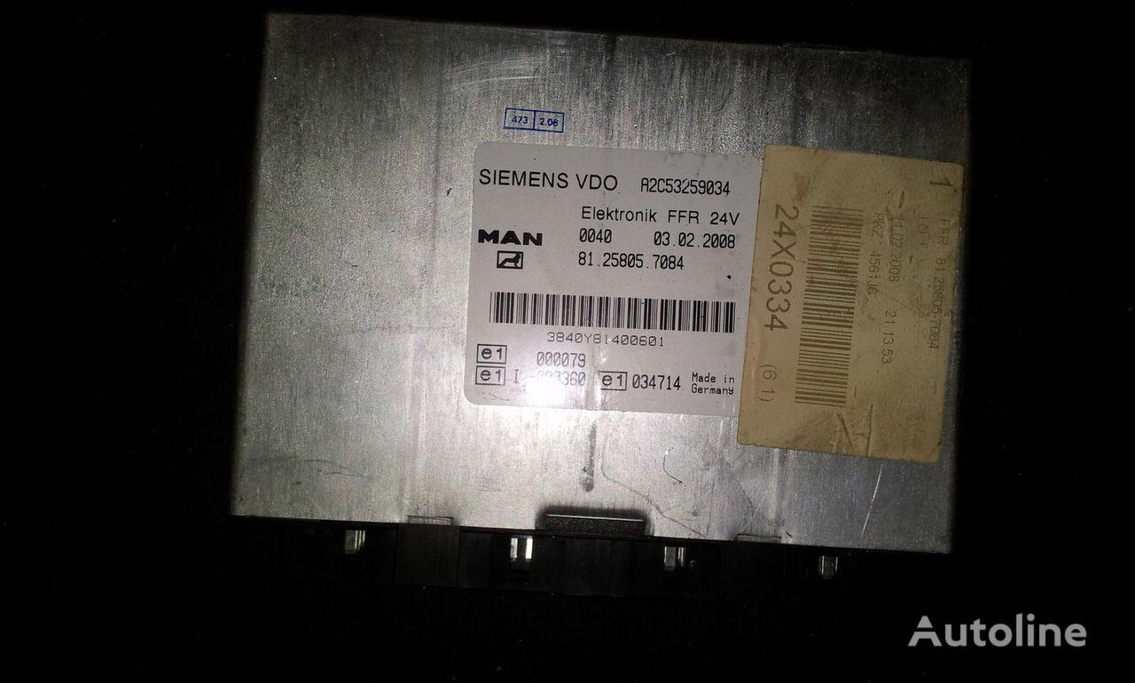MAN FFR control unit, ECU, 81258057084, Siemens VDO, 81258057084, 81 unitate de control pentru MAN TGX autotractor