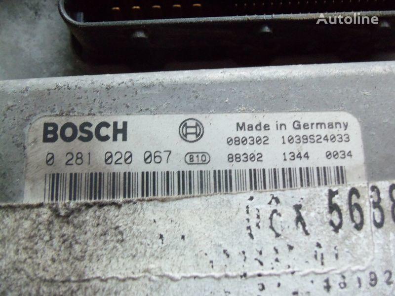 MAN TGA, , engine computer EDC 480PS D2676LF05 ECU BOSH 028102006 unitate de control pentru MAN TGX autotractor