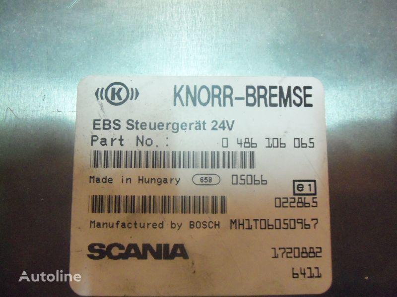 Scania R series EBS control unit, EDC, ECU, 1720882, 0486106065, 2029183, 144770, 2239955, 1863490, 1879265, 1888379, 1936733 unitate de control pentru SCANIA  R  autotractor