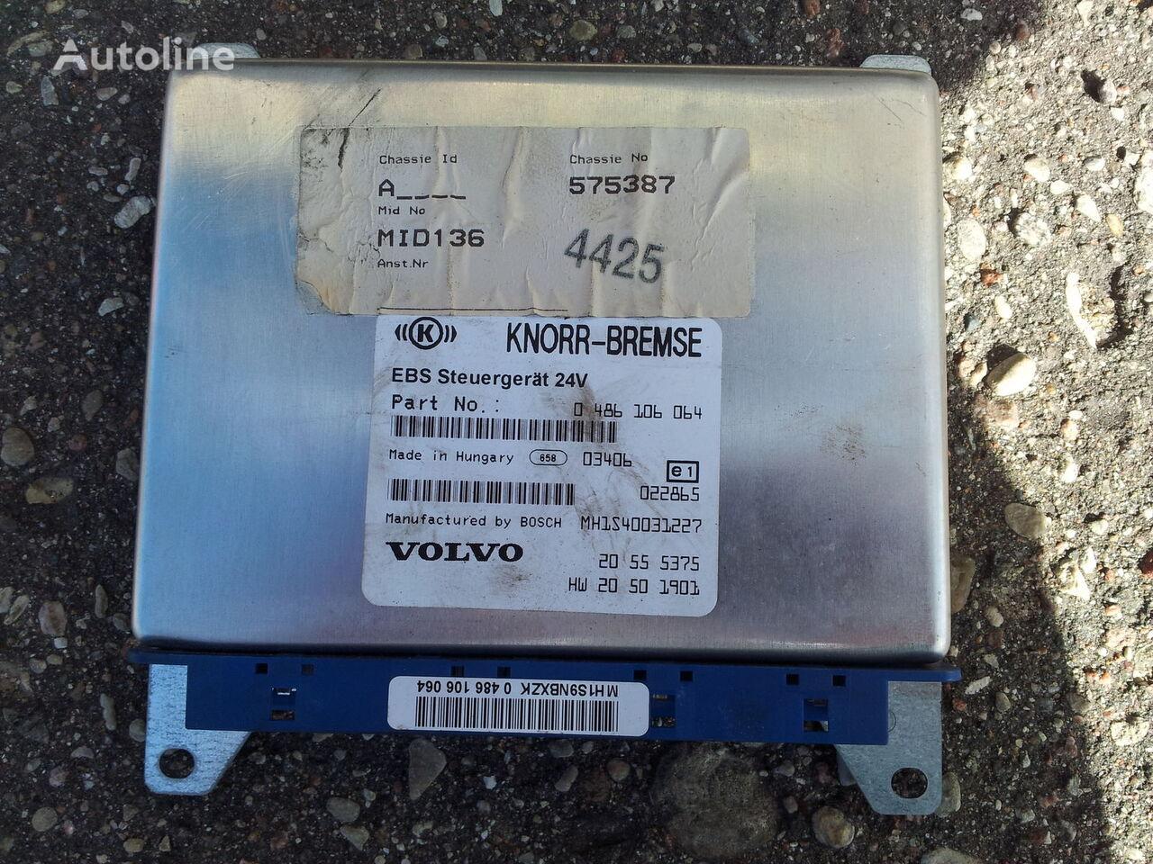 VOLVO FH12 ECU, EDC, EBS Control unit 20555375, 0486106064, 20410009, unitate de control pentru VOLVO FH12, FH13 autotractor