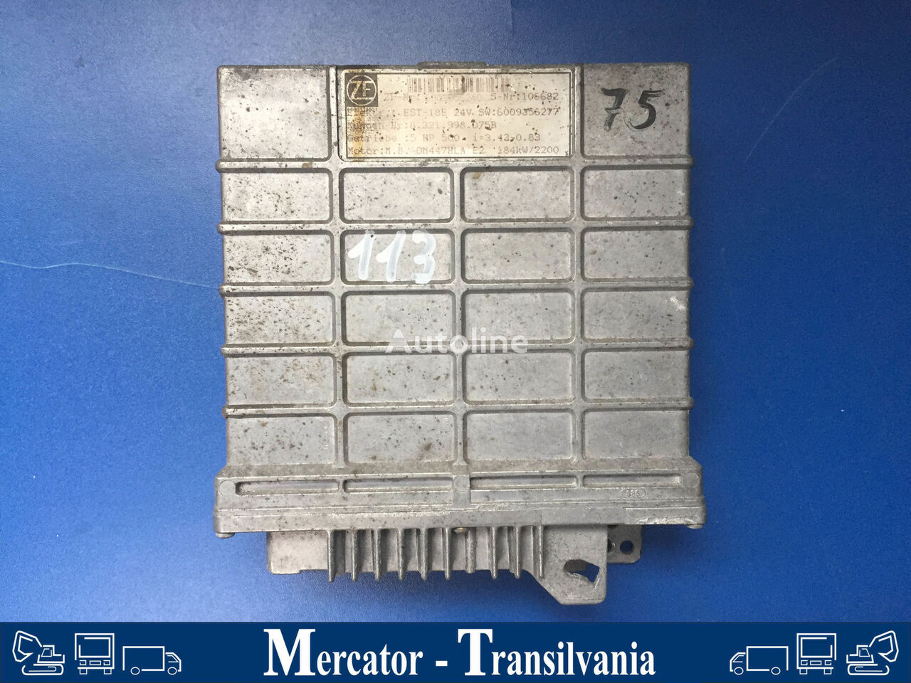 unitate de control ZF Steuereinheit getriebe 5 HP 500 pentru autobuz MERCEDES-BENZ O 550 / Integro