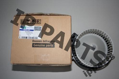 ventilator răcire pentru DOOSAN wentylator 2538-6015 K1040112 nawiew excavator