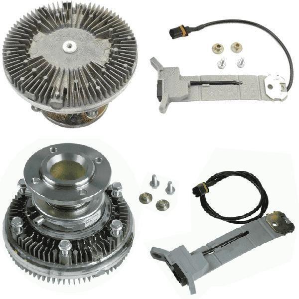 MAN 51066300076.51066300108.51066300115.8MV 376 758-471.7063401. BEH ventilator răcire pentru MAN TGA camion nou