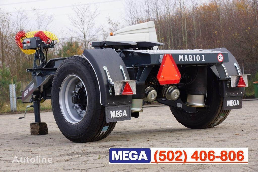 MEGA 1 Achse Dolly fur Kipper / Hydraulik Pumpe / FERTIG  remorcă dolly nou